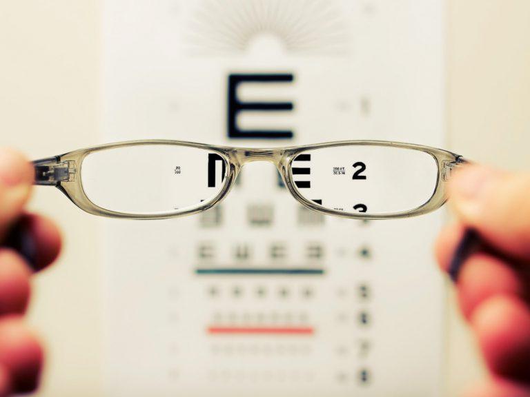 Eyewear at exam